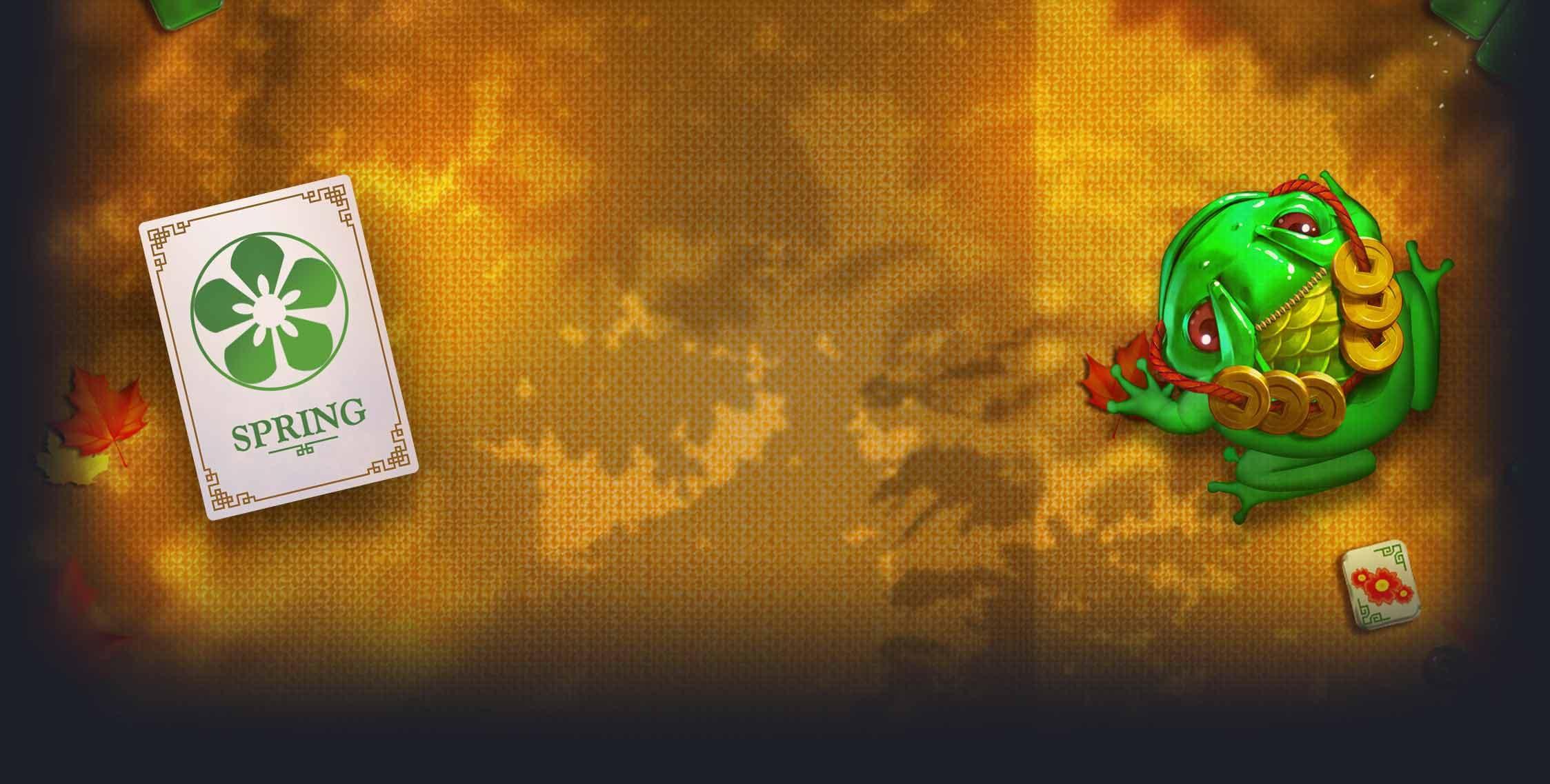 Everything begins at spring at Mahjong 88 Slots