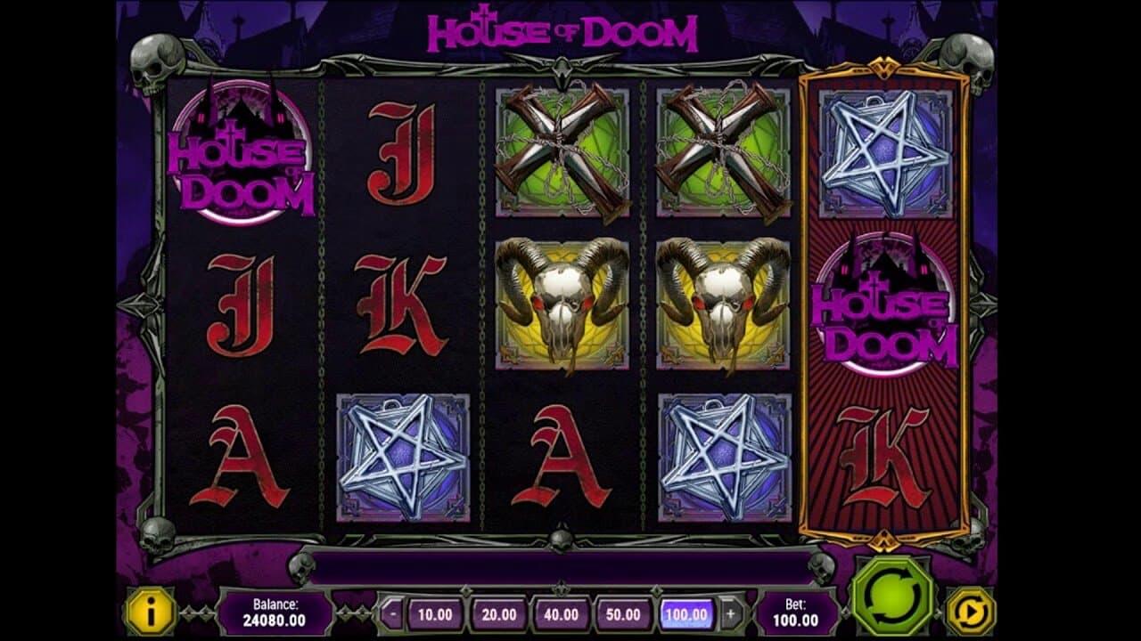 New PlayN Go House Of Doom Slot Live