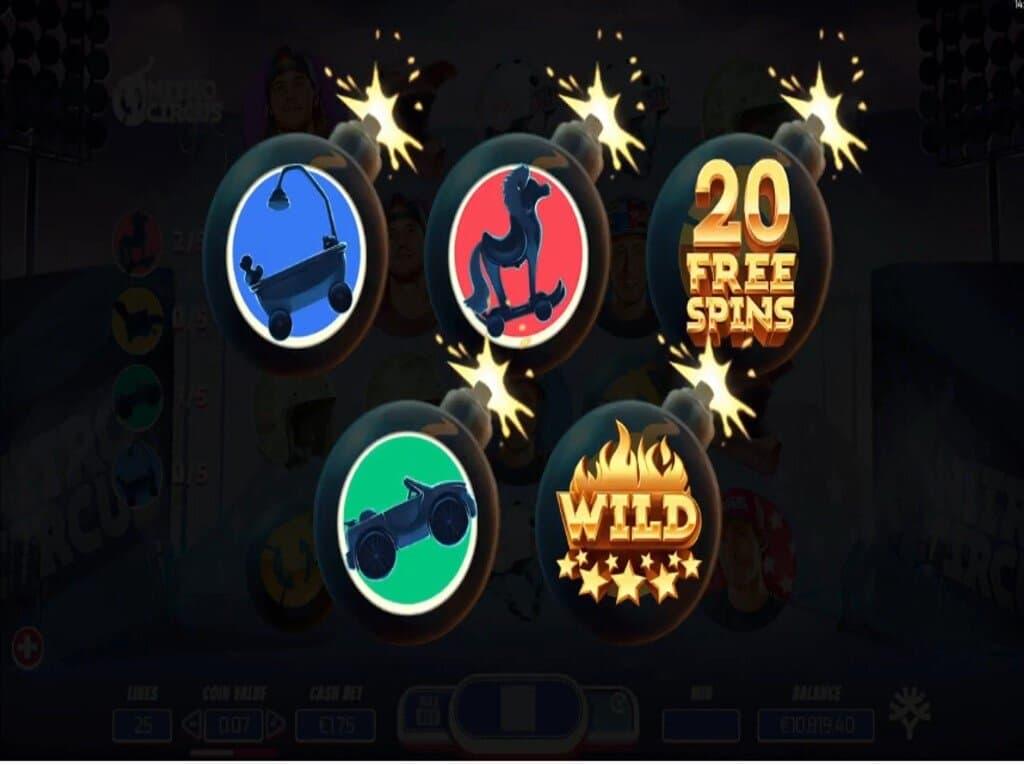 Spiele Nitro Circus - Video Slots Online