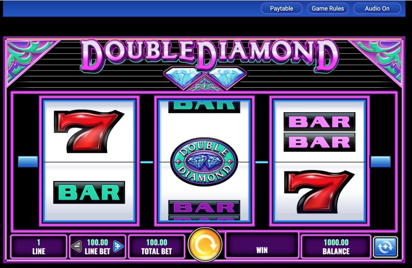 Free Double Diamond Slot Games