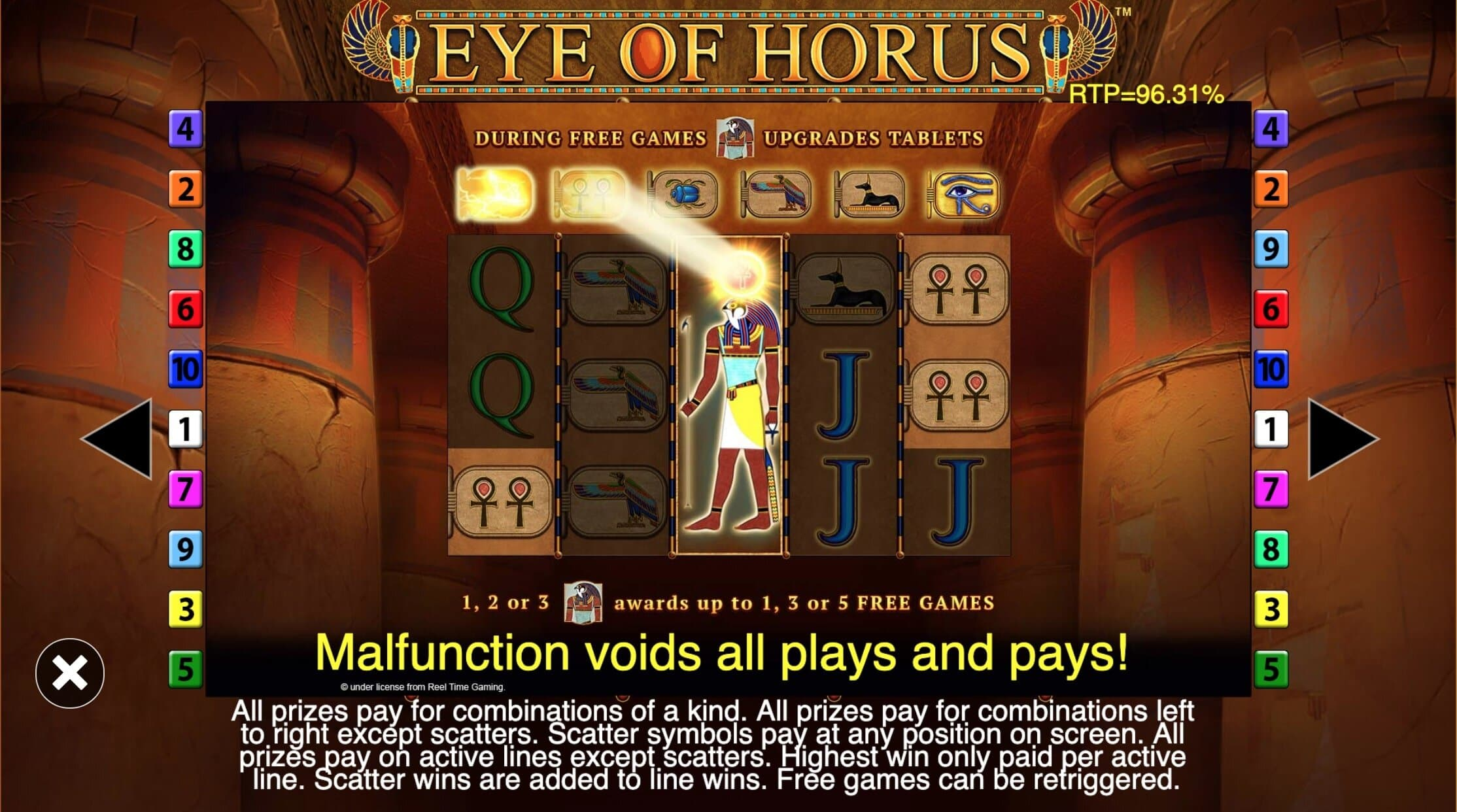 Eye Of Horus Online Free