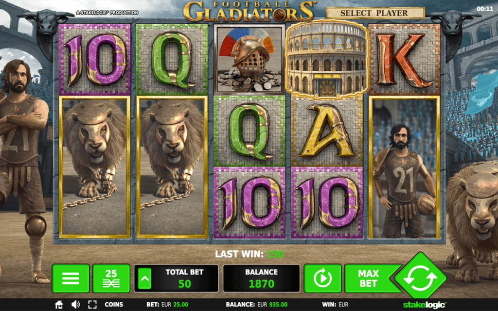 Gladiator No Download Slot