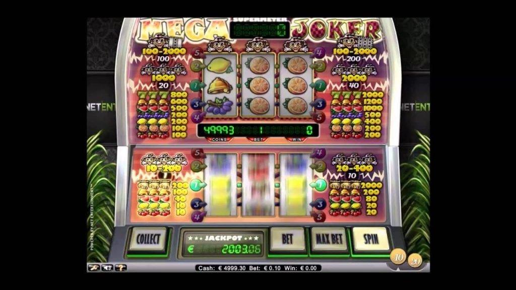 New Free Play Slot Mega Joker