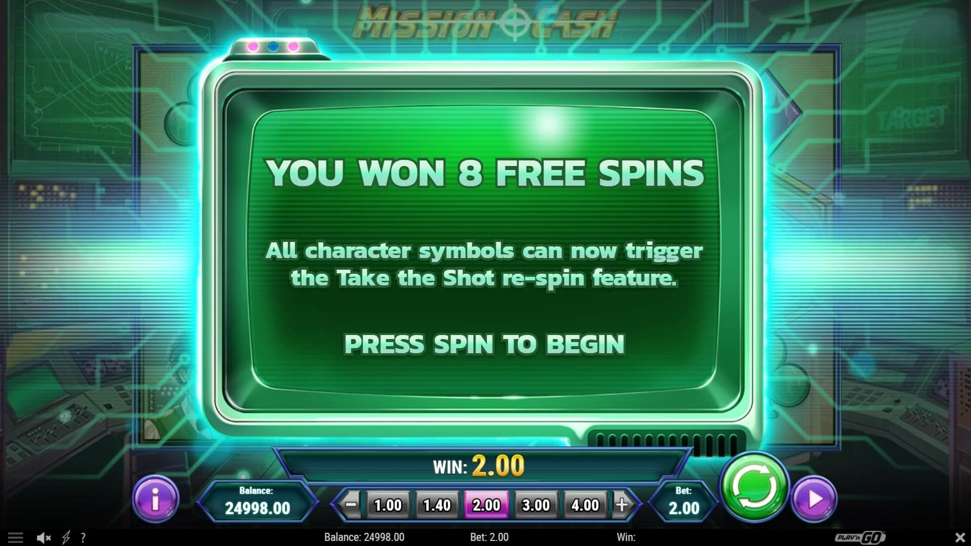 Win big time at Mission Cash