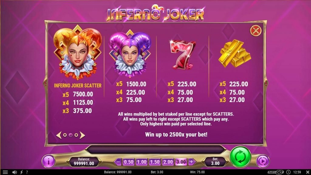 Inferno Joker Free Slots Game - Play FREE Now! Now Download