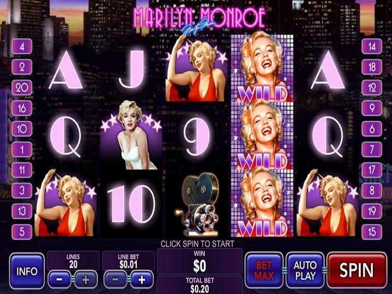 Marilyn Monroe Slot Machine - UK slots online with no ...