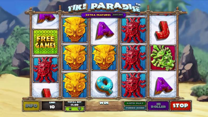 New Omnichannel Tiki Paradise Slot