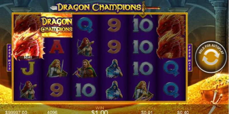 Play Dragon Champions at Any Playtech Casino