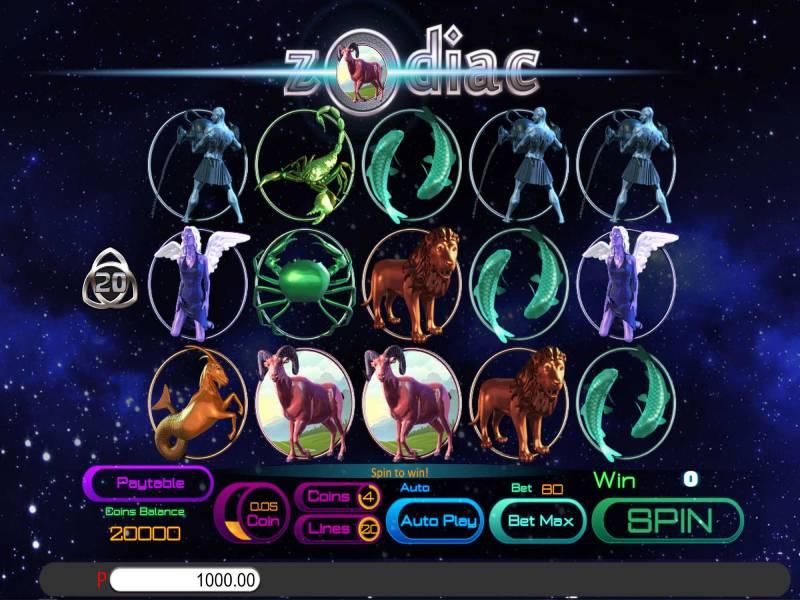 12 Zodiacs No Download Slot