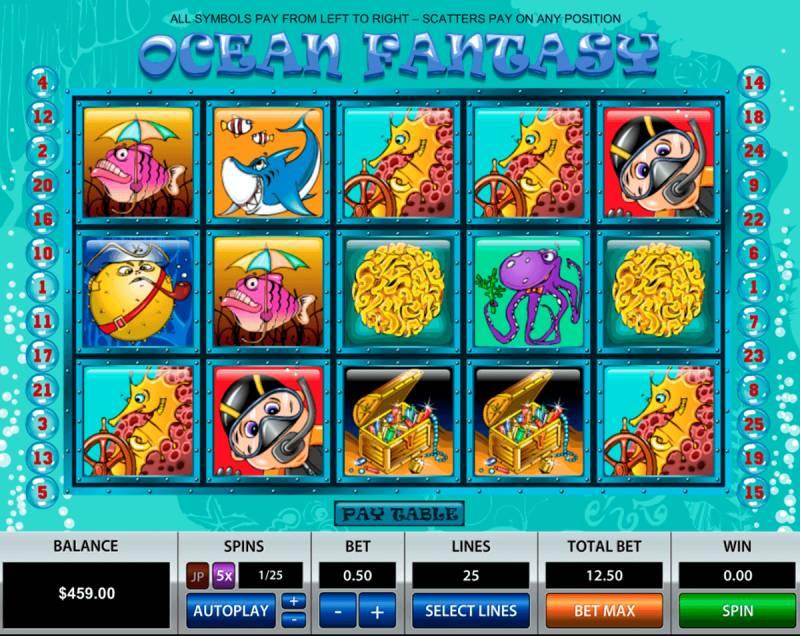 Ocean Fantasy 25 Lines