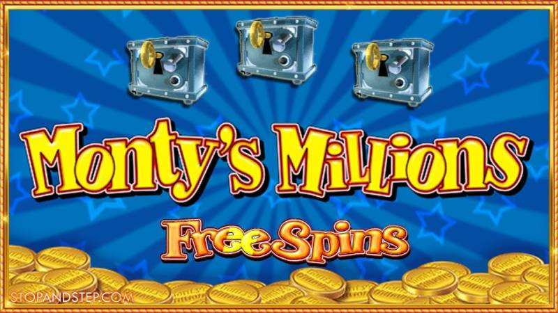 Monty's Millions Slot Game