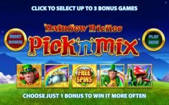Rainbow Riches Pick'n'Mix slot