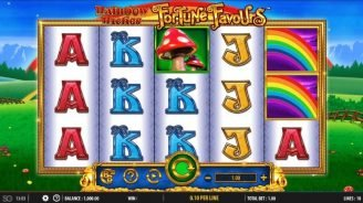 Rainbow Riches Fortune Favors Slot Game